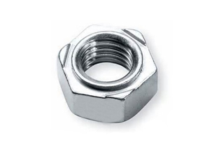 Hex Weld Nuts, Zinc Plated Galvanized Carbon Steel DIN929 M10