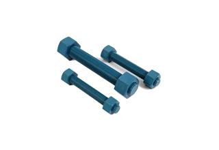 China Alloy Steel ASTM A193 B7 Stud Bolts C/W 2 Nuts A194 GR.2H, 1X160