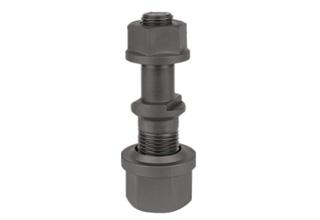 Truck wheel hub bolt and nut for Nissan TK20