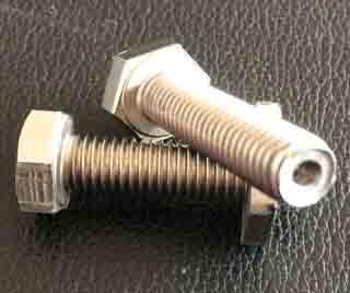 A2 Hex Bolt DIN933 M10x40, RVS Bold, Bolt RVS A2