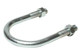U bolt saddle clamps