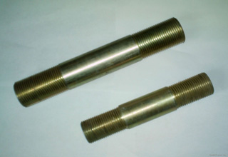 M12 Stud Bolts with Two Hex Nuts