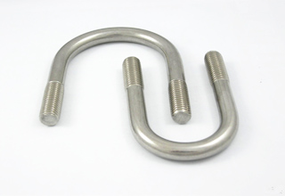 high strength carbon steel galvanized ANSI grade 10.9 u bolt
