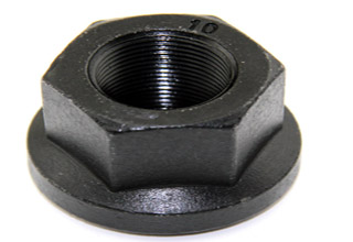Stainless Steel Hex Flange Bolt Nut with knurled