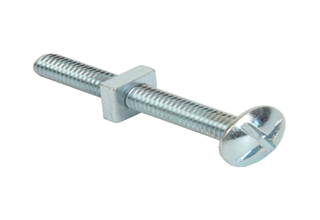 galvanized roofing bolt with square nut
